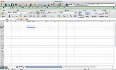 microsoft excel 2013 for mac