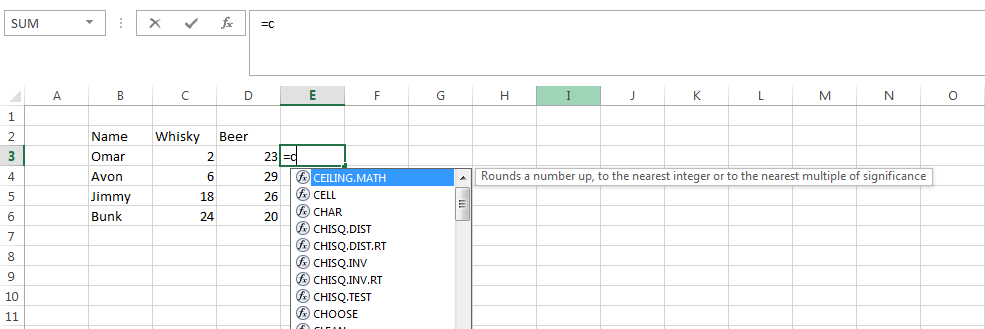 how to add a word in every cell excel