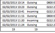 Microsoft Excel COUNTA